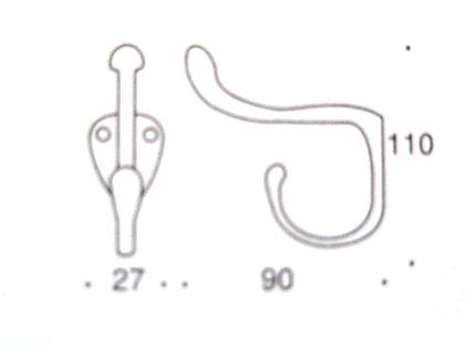 フックコート S 図