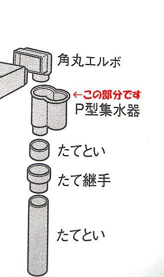 P型 組立図