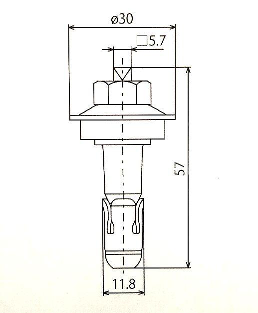ルーフボルト R-8
